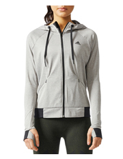 Adidas - Performance Full Zip Hoodie