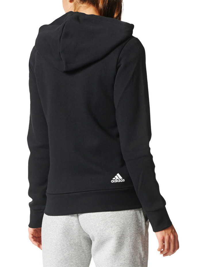 Essentials Linear Fullzip Fleece Hoodie image 2