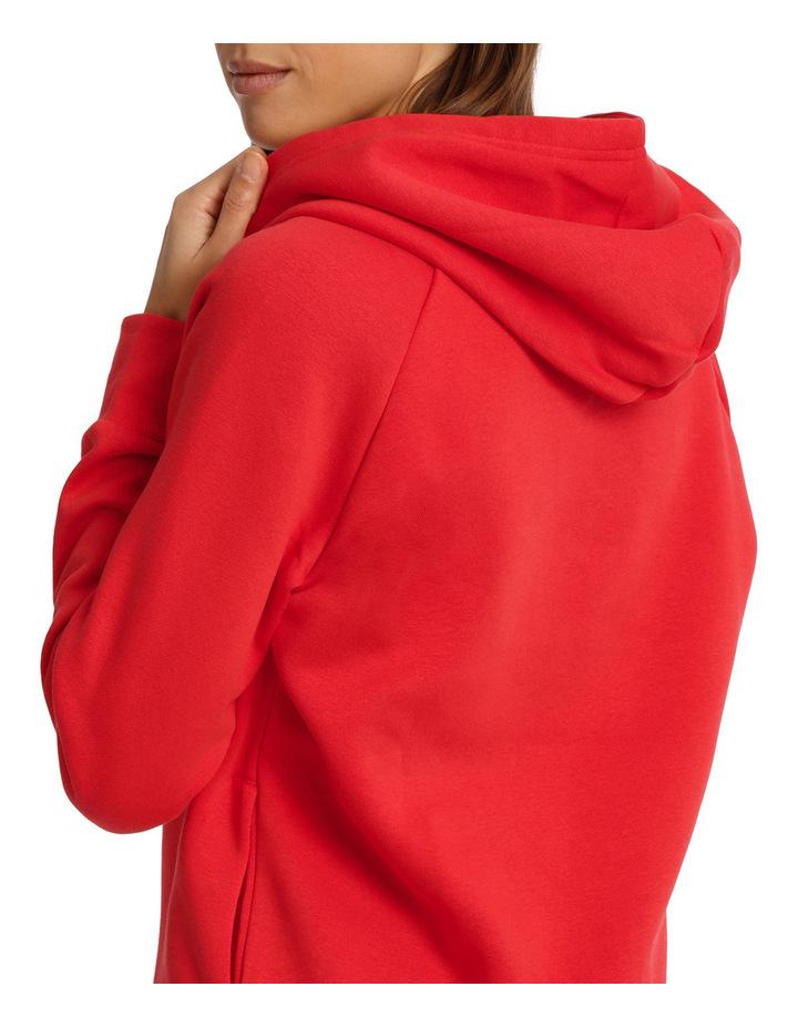 Essentials Linear Over Head Fleece Hoodie image 4