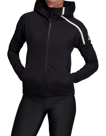 Shop Adidas Z.N.E Q3 Hoodie Women by ADIDAS online in Qatar