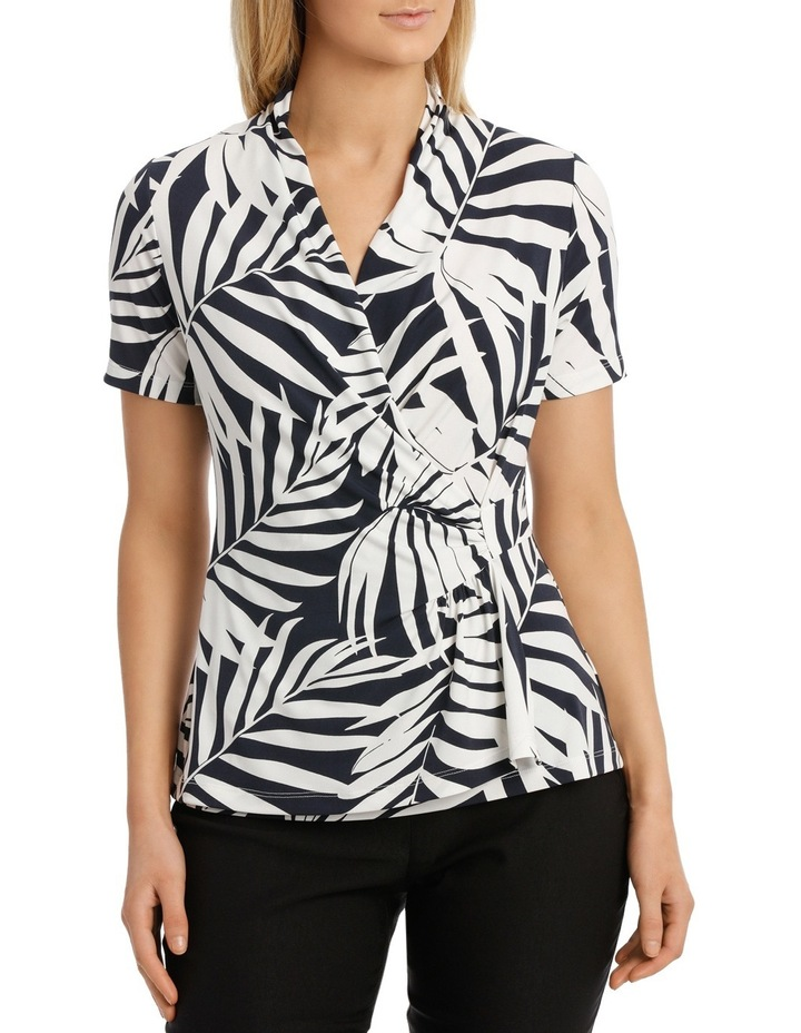Giant Palm Wrap Top image 1
