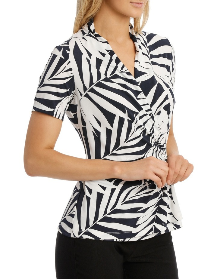 Giant Palm Wrap Top image 2