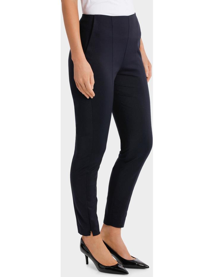 Navy Straight Leg Pant image 2