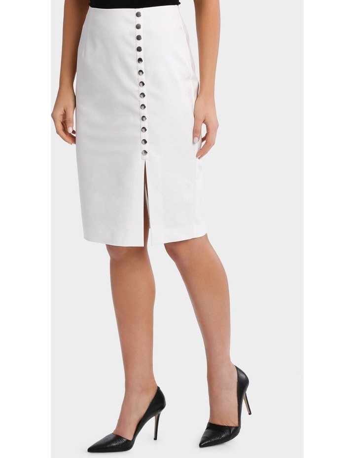 Straight Skirt With Stud Detail image 1