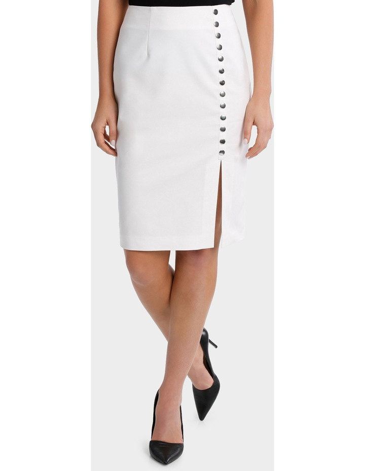 Straight Skirt With Stud Detail image 2