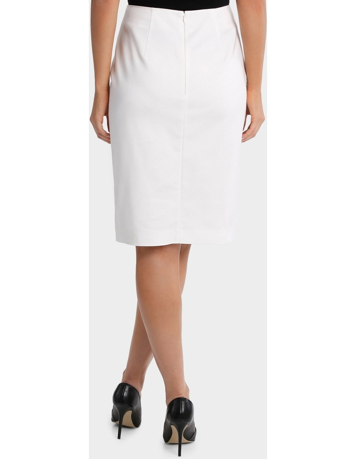 Straight Skirt With Stud Detail image 3