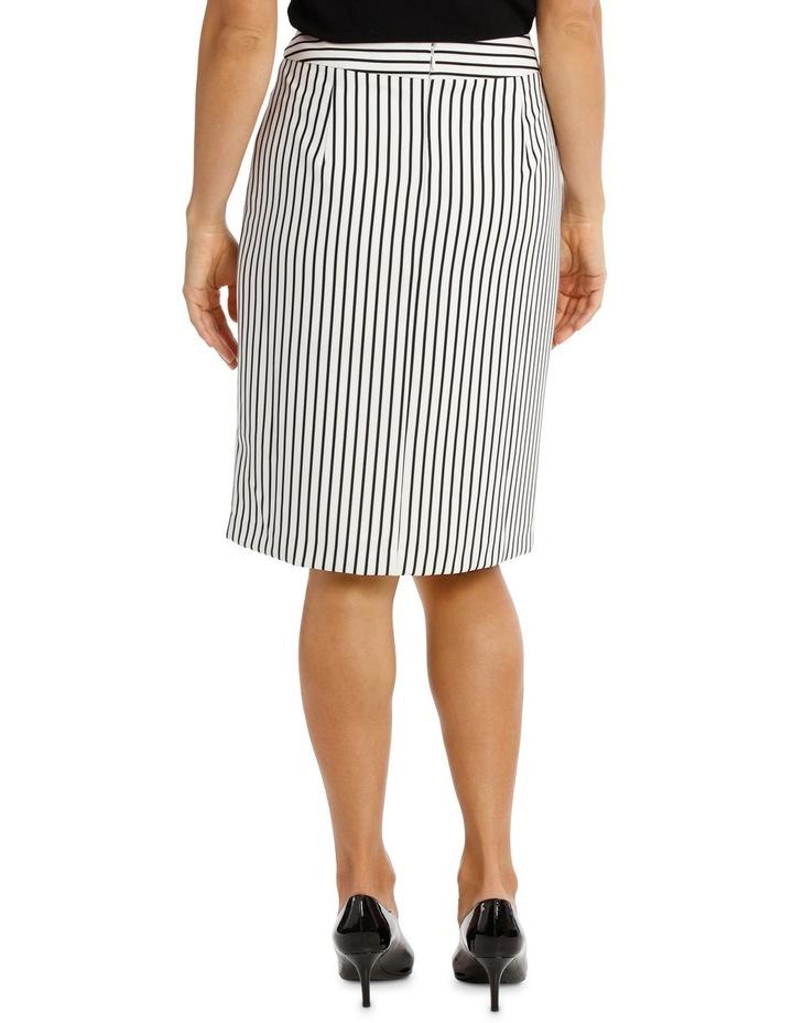 Pinstripe Skirt image 3