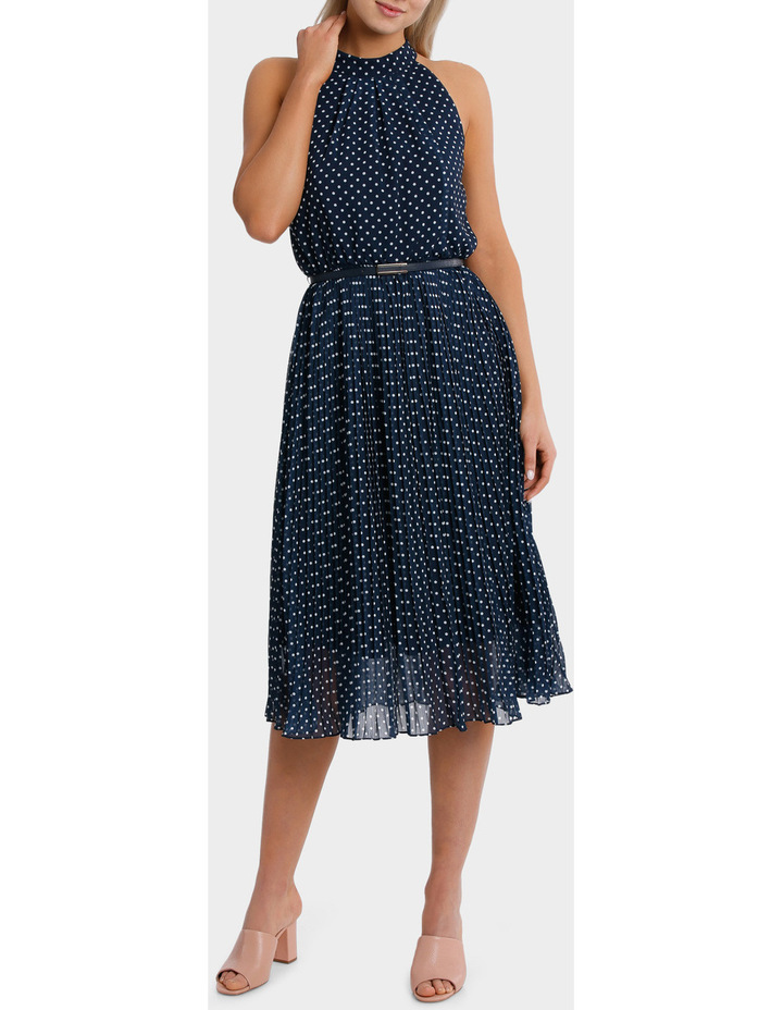 Halo Spot Midi Dress image 1