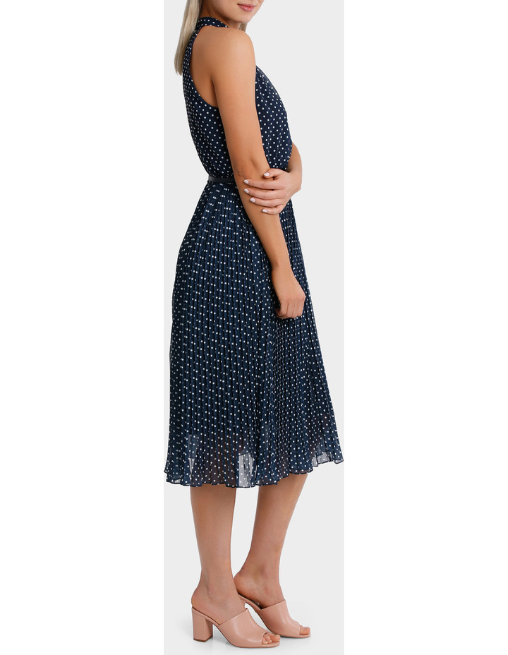 Halo Spot Midi Dress image 2
