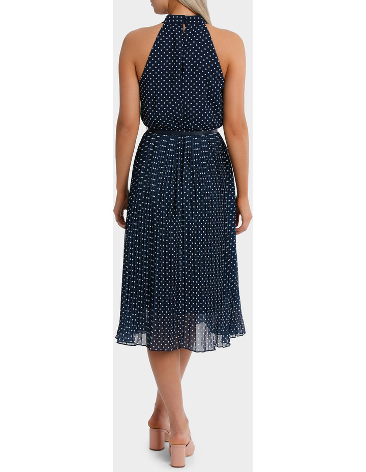 Halo Spot Midi Dress image 3