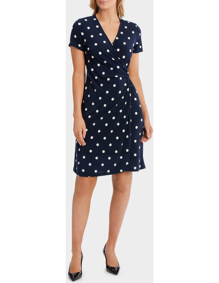 Wrap Dress With Buckle image 1