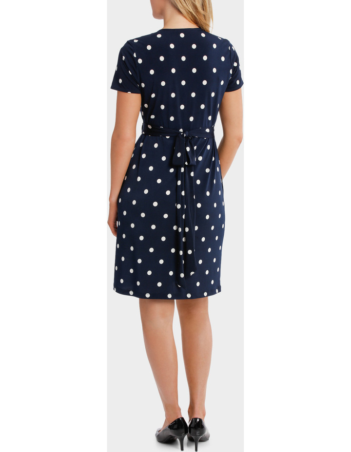 Wrap Dress With Buckle image 3