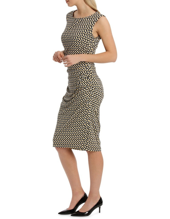 Irregular Rectangle Printed Jersey Dress image 2