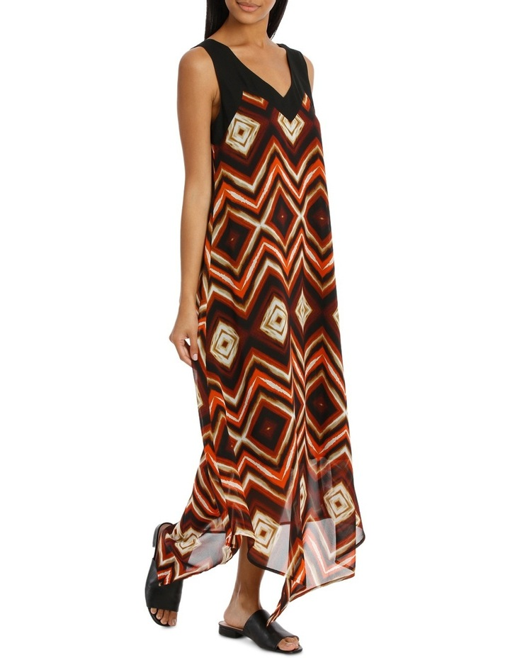 Sunset Print Dress image 2