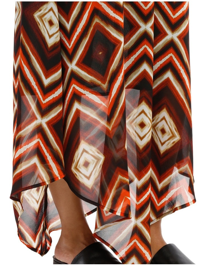 Sunset Print Dress image 4