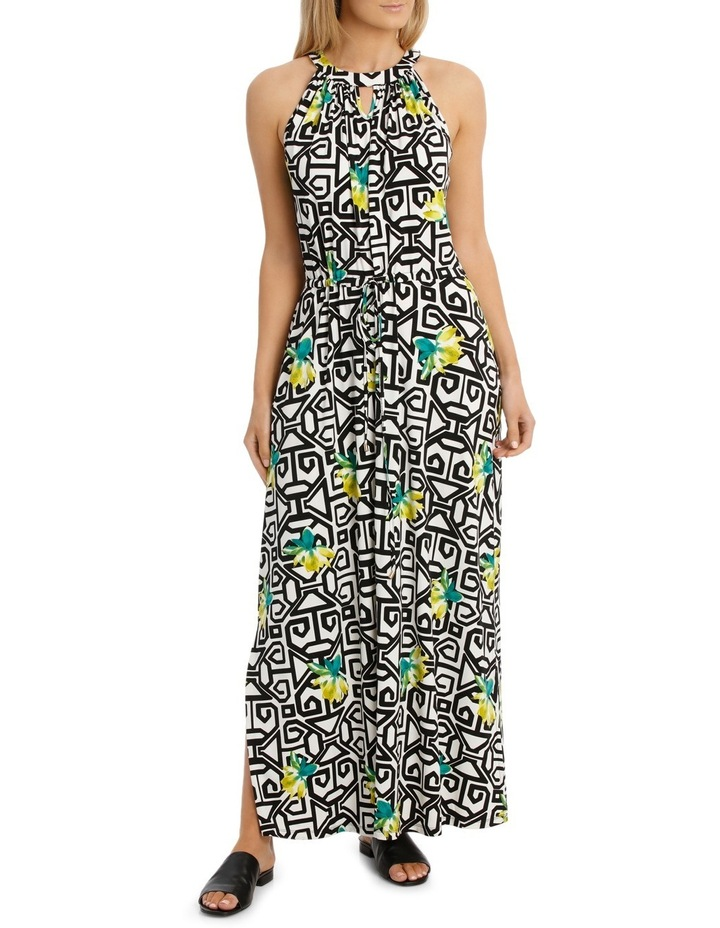 Tie Front Maxi Dress image 1
