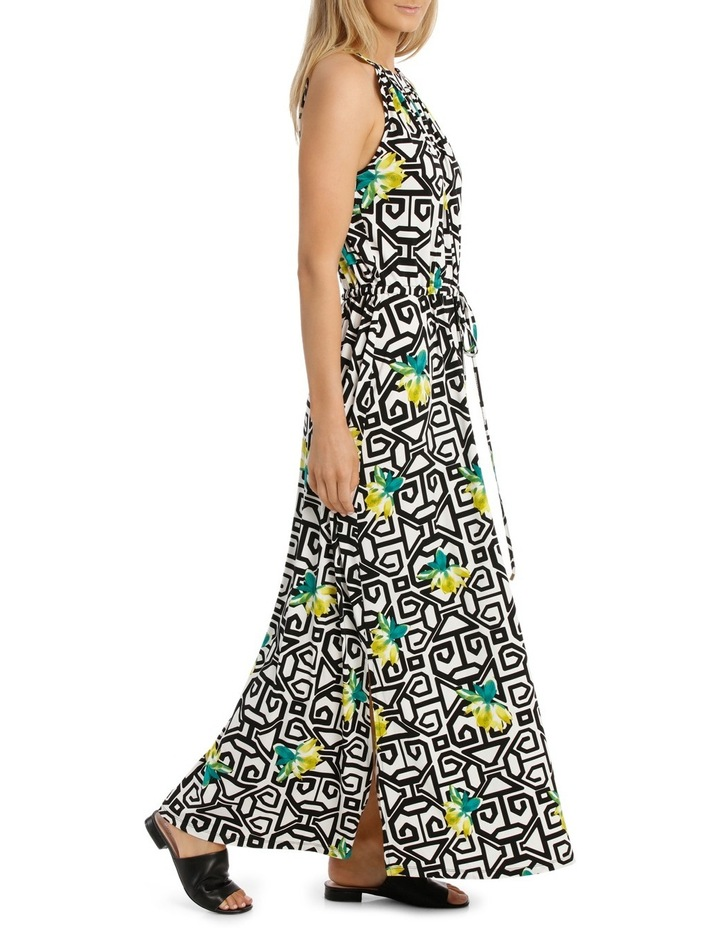 Tie Front Maxi Dress image 2