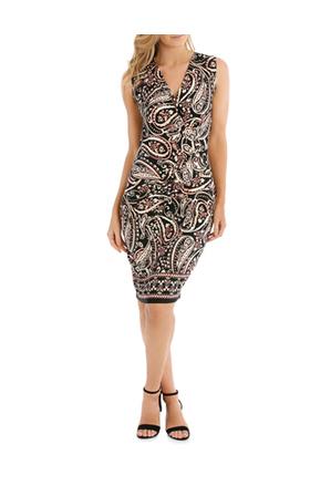 Jane Lamerton Paisley Print Wrap Dress Myer Online