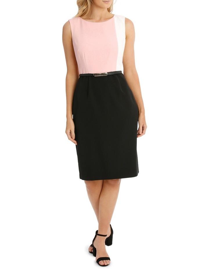 Colour Block Pencil Dress image 1