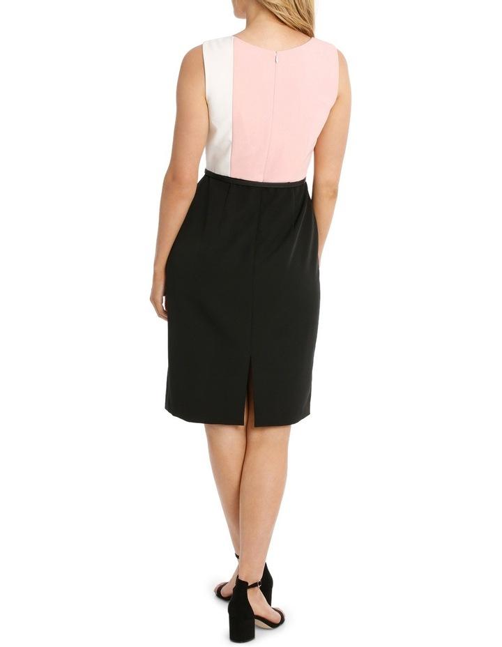 Colour Block Pencil Dress image 2