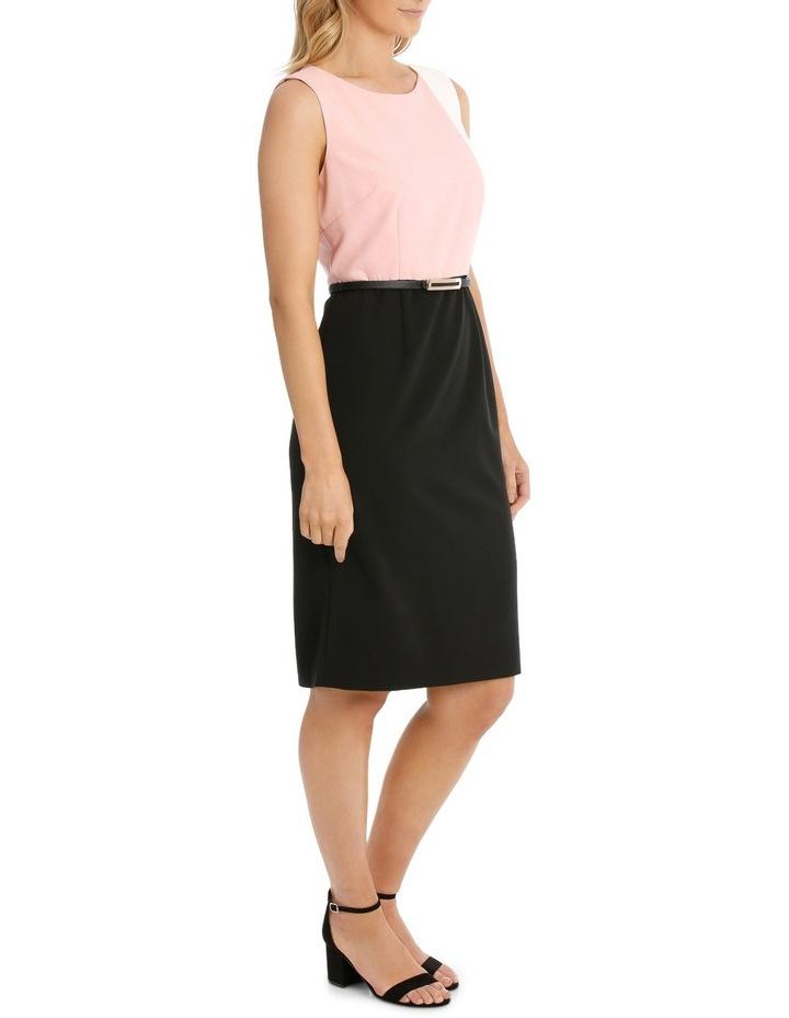 Colour Block Pencil Dress image 3