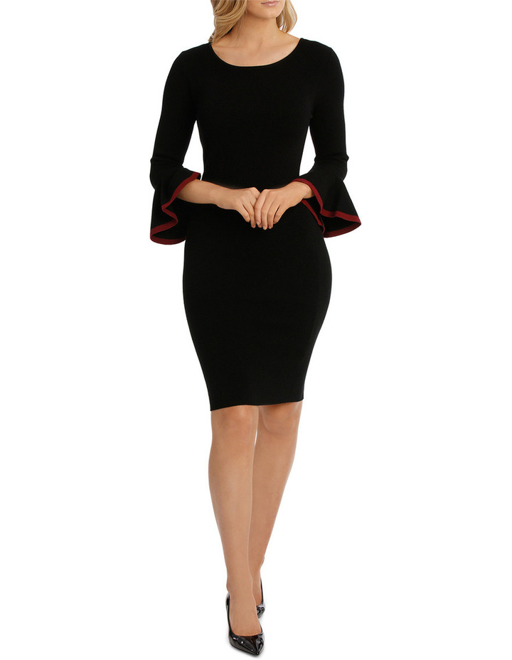 Milano Sleeve Detail Dress image 1