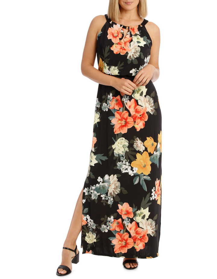 Printed Maxi Dress image 1