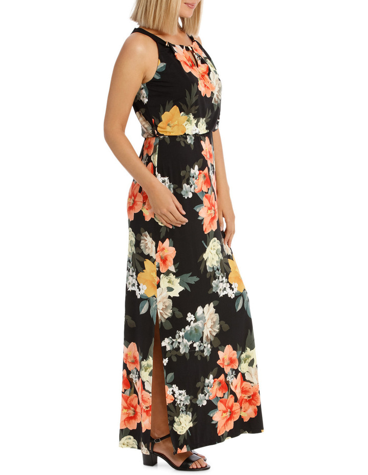 Printed Maxi Dress image 2
