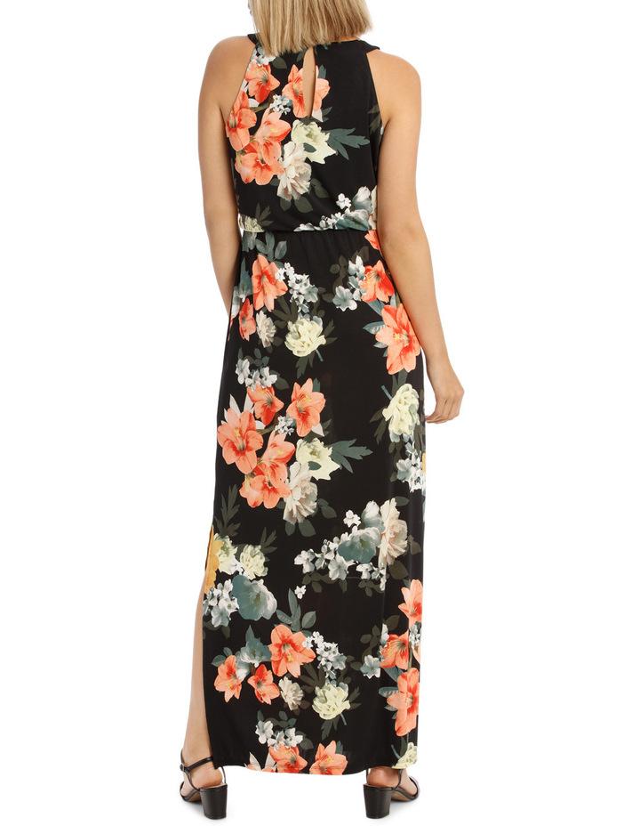 Printed Maxi Dress image 3