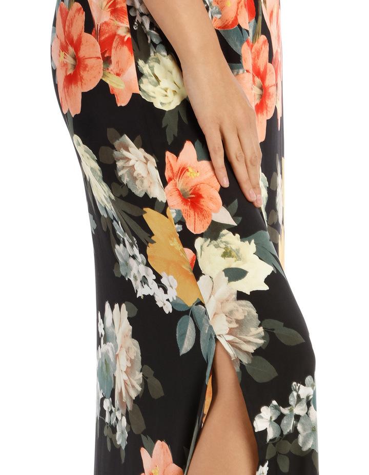 Printed Maxi Dress image 4