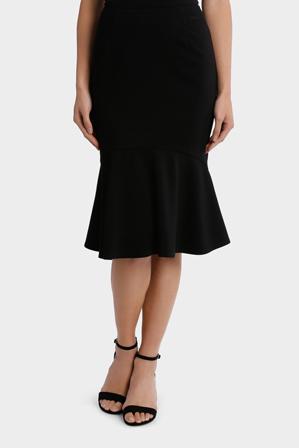 Jane Lamerton - Fluted Hem Skirt