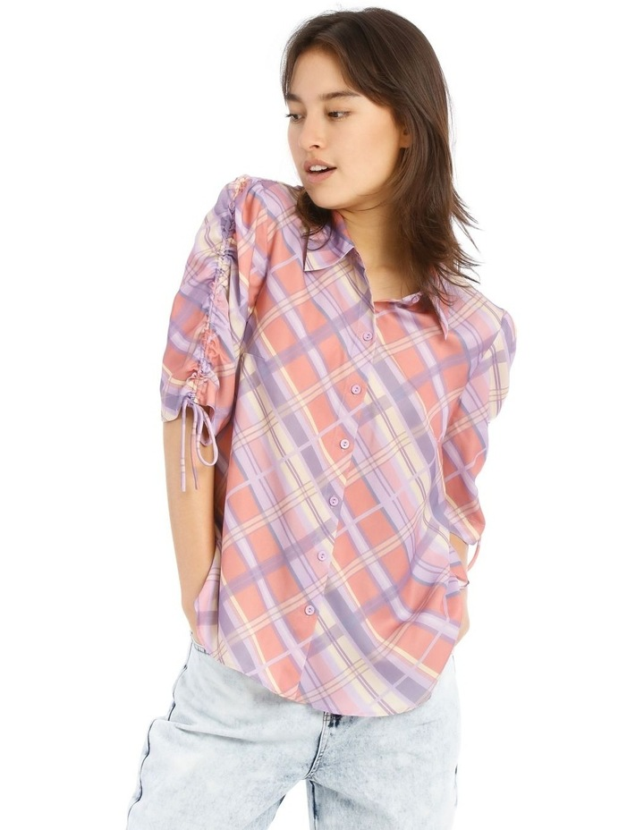 Graphic Check Shirt image 1