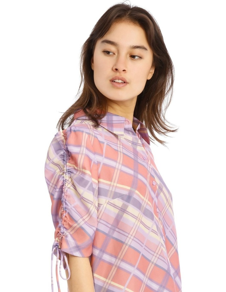 Graphic Check Shirt image 4