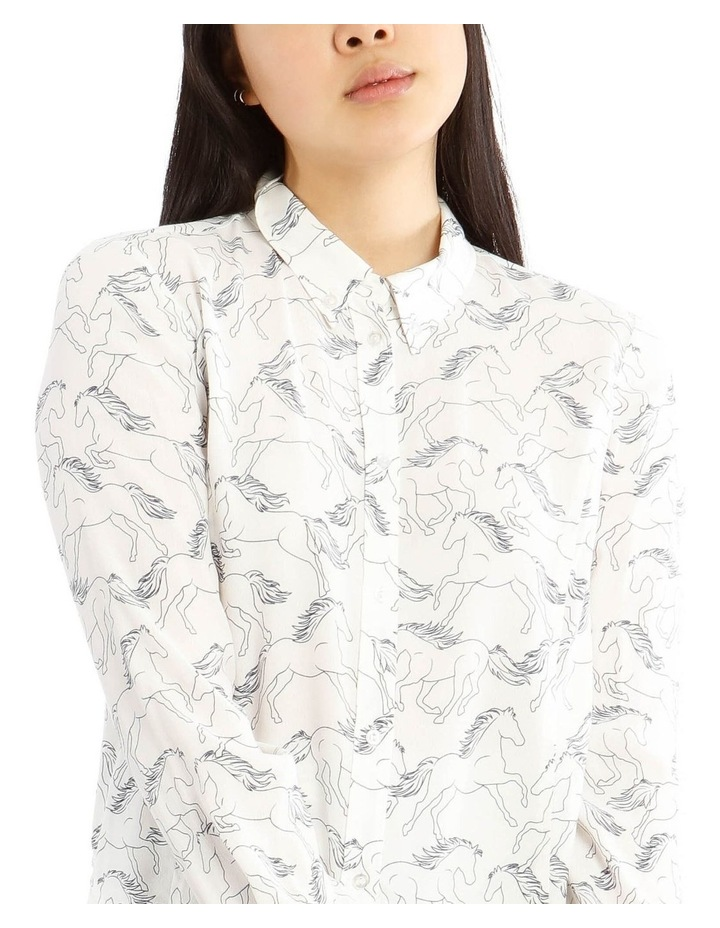 Peaked Collar Shirt image 4