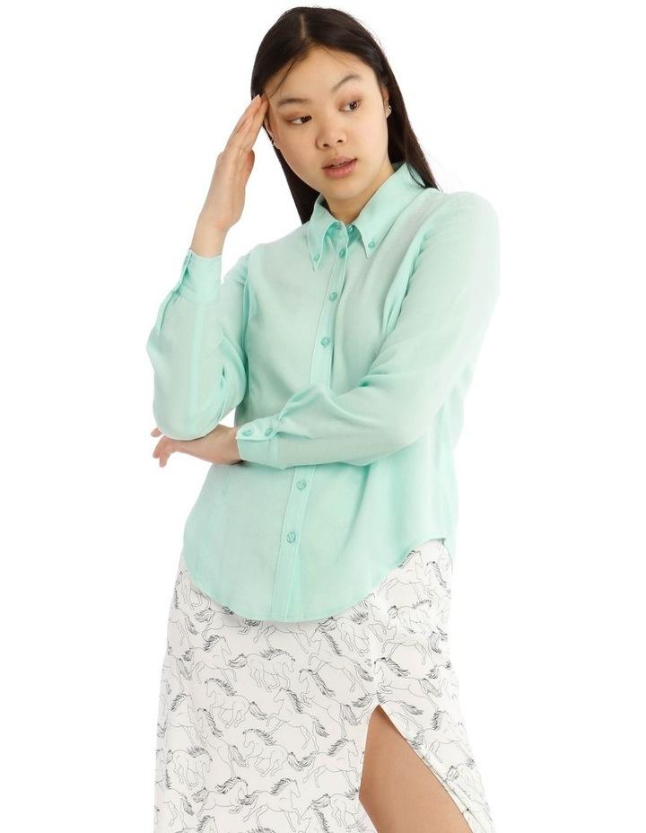 Peaked Collar Shirt image 1