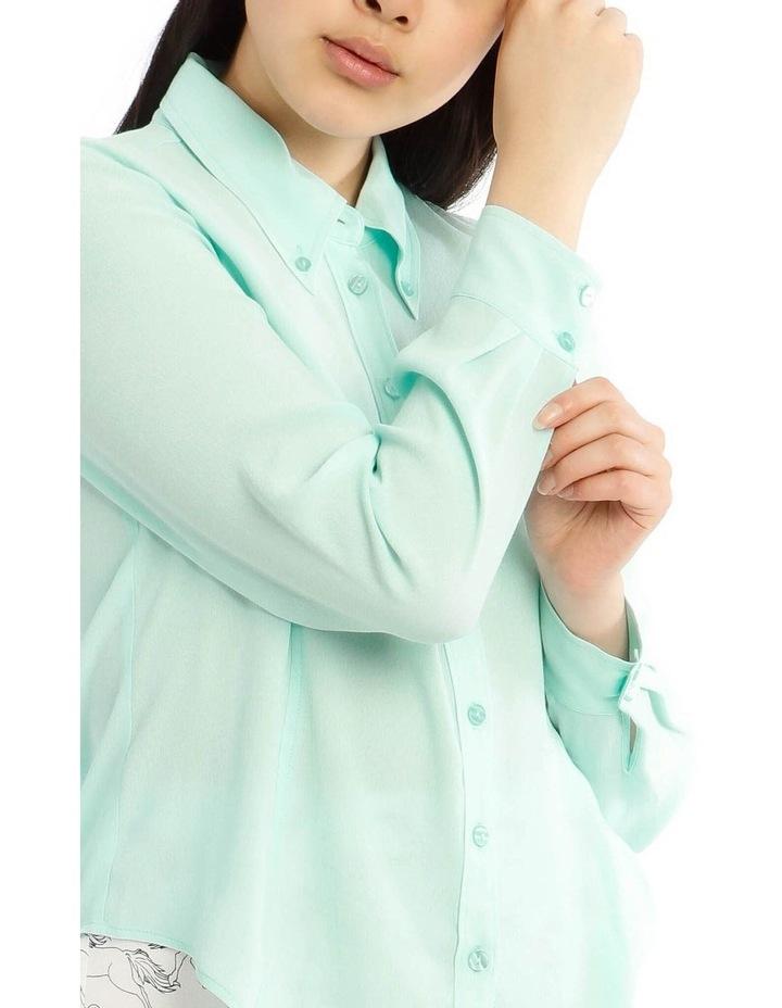 Peaked Collar Shirt image 4