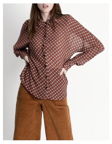 cd72fa4f5cd2 Hi There From Karen Walker Button Up Blouse