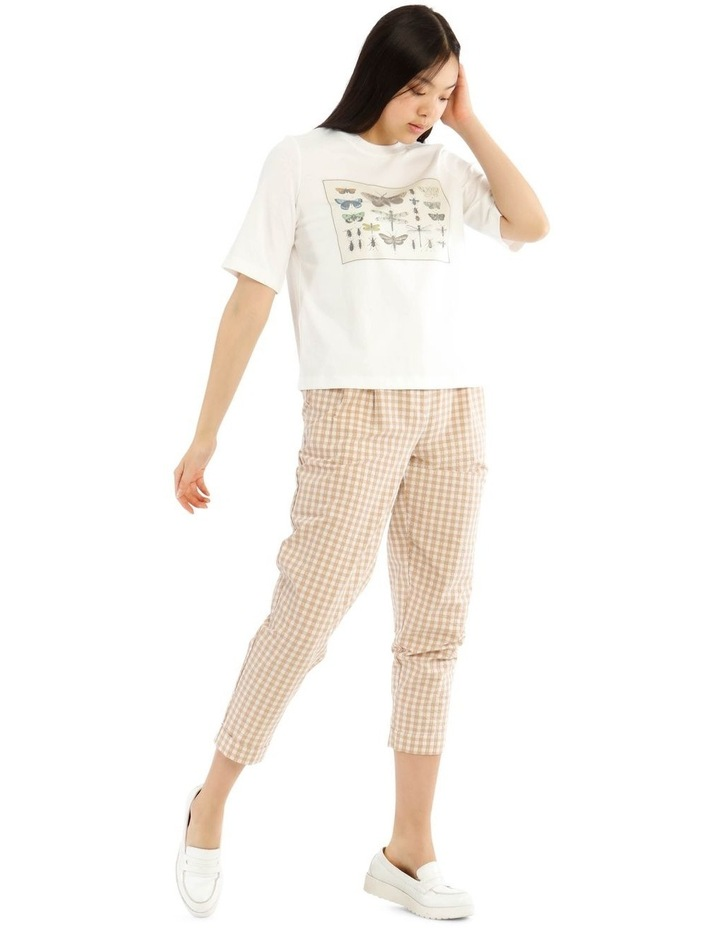 Placement Print Tee image 2