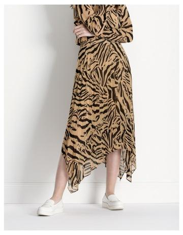 4fe5e43cab2 Hi There From Karen WalkerZebra Print Pleat Skirt. Hi There From Karen  Walker Zebra Print Pleat Skirt