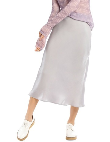 a0111e18b Hi There From Karen Walker Metallic Skirt