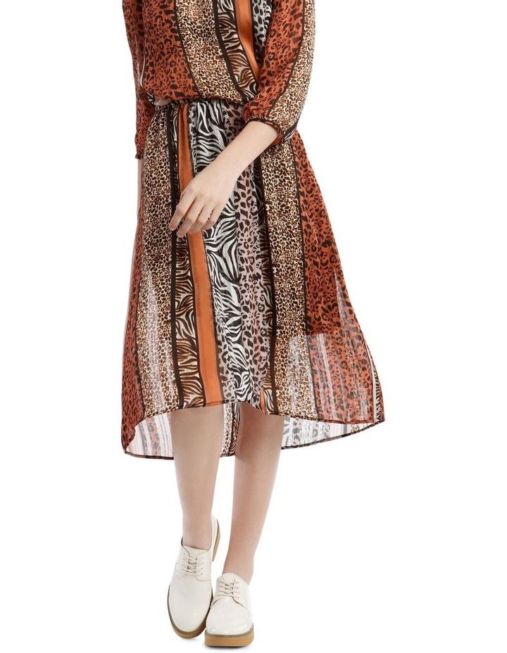 Burnout Stripe Skirt image 1