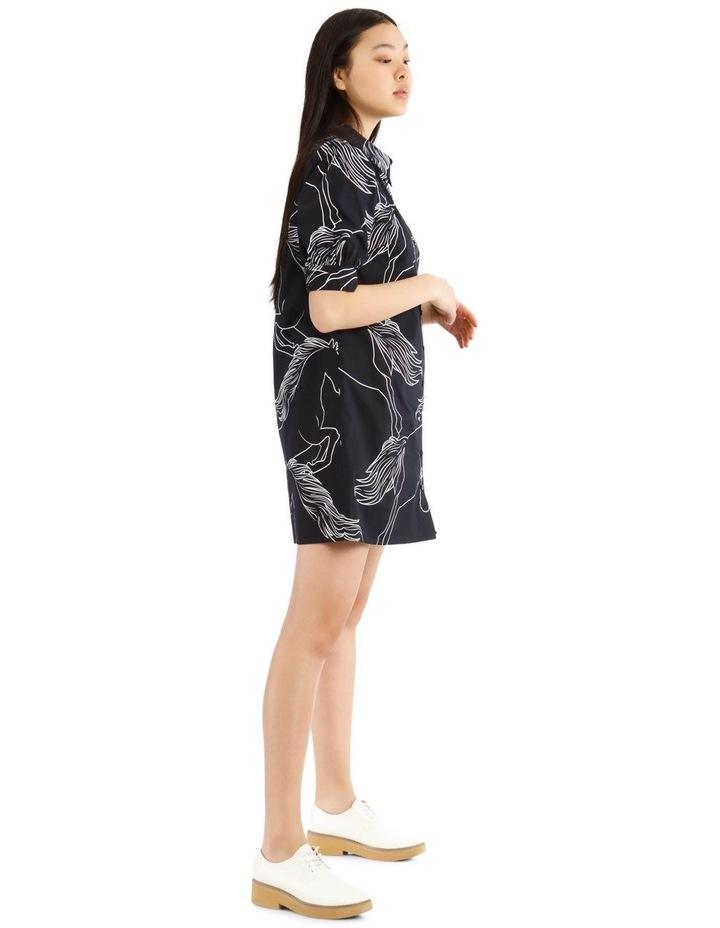 A-Line Puff Sleeve Dress image 2