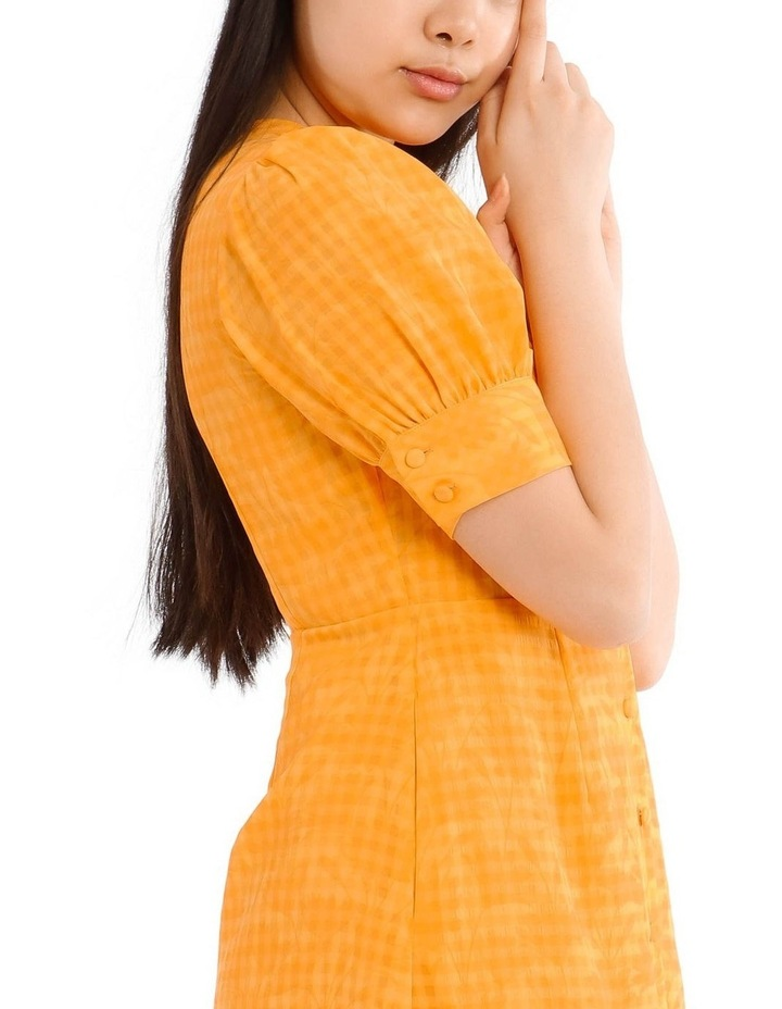 Puff Sleeve Mini Dress image 4