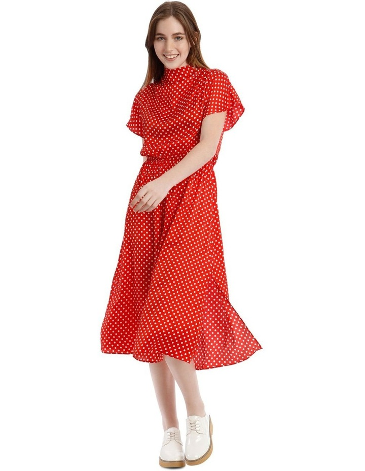 Cowl Neck Dress image 1