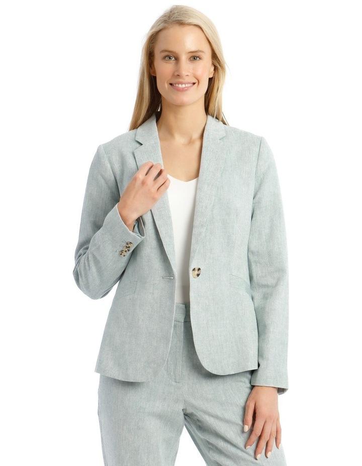 Linen Blend Jacket image 1