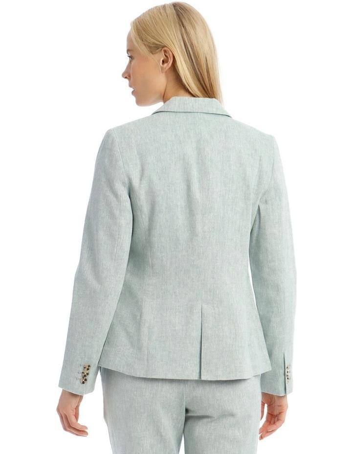 Linen Blend Jacket image 3