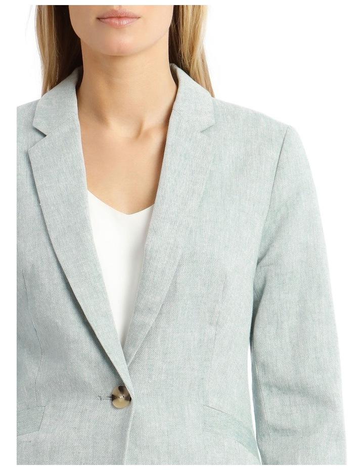 Linen Blend Jacket image 4