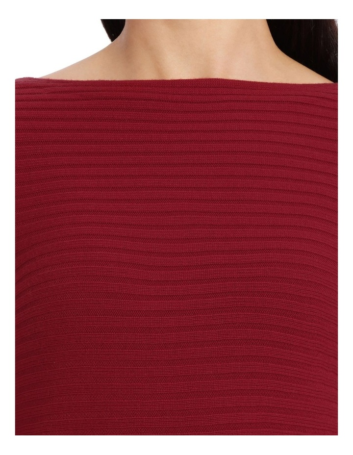 Boat Neck Ribbed Jumper image 4