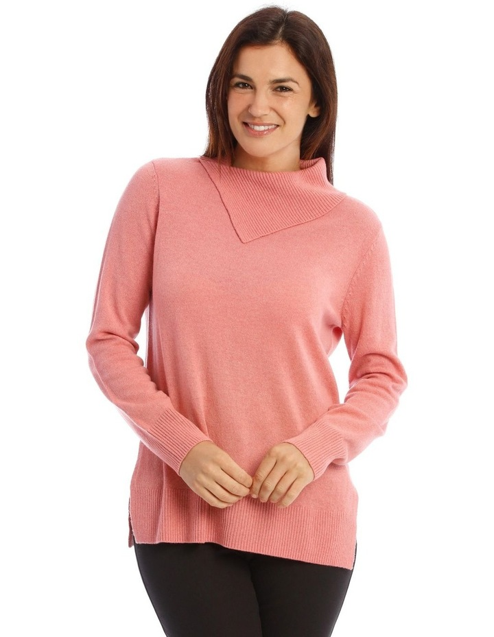 Open Roll Neck Jumper image 1