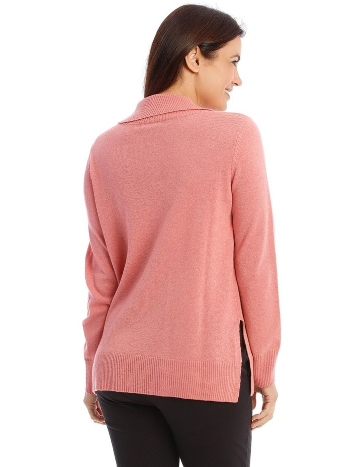 Open Roll Neck Jumper image 3